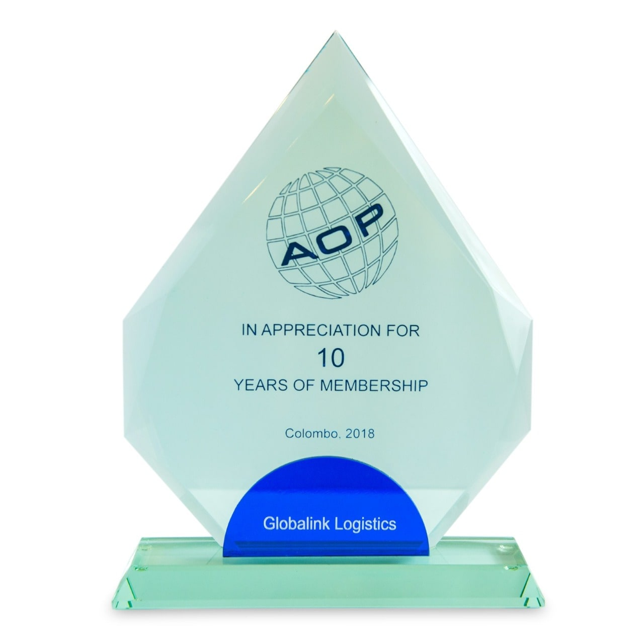 10 years of AOP membership